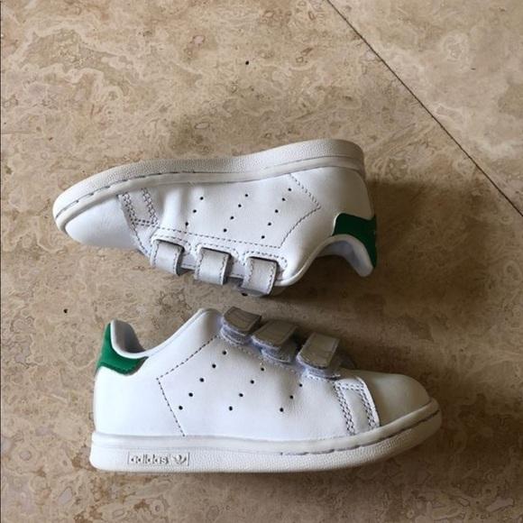 buy popular 1e5e8 8610a Stan Smith adidas boys sneakers size 7K